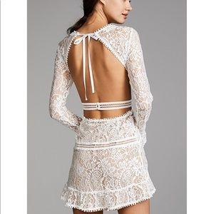 For Love And Lemons Emerie Cut out Dress